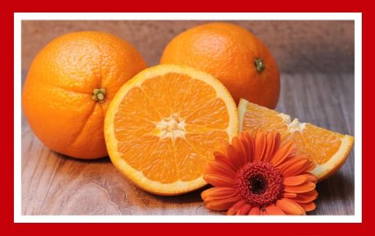 frutas para pajaros naranja